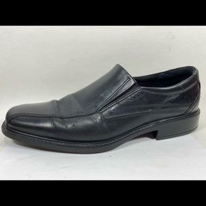 Ecco Leather Dress Loafers Men's 45